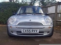 2005 Mini Cooper 1.6 Automatic Low mileage, Very clean car 1 Year MOT, Leather, Air conditioning
