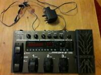 Zoom multi effects pedal