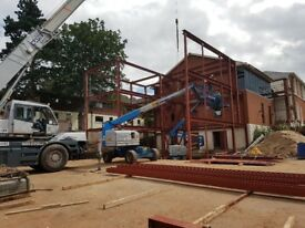 Steel Frame House Extension Belfast Contractors Supplier Of Steel Beams, Fabrication, Erection