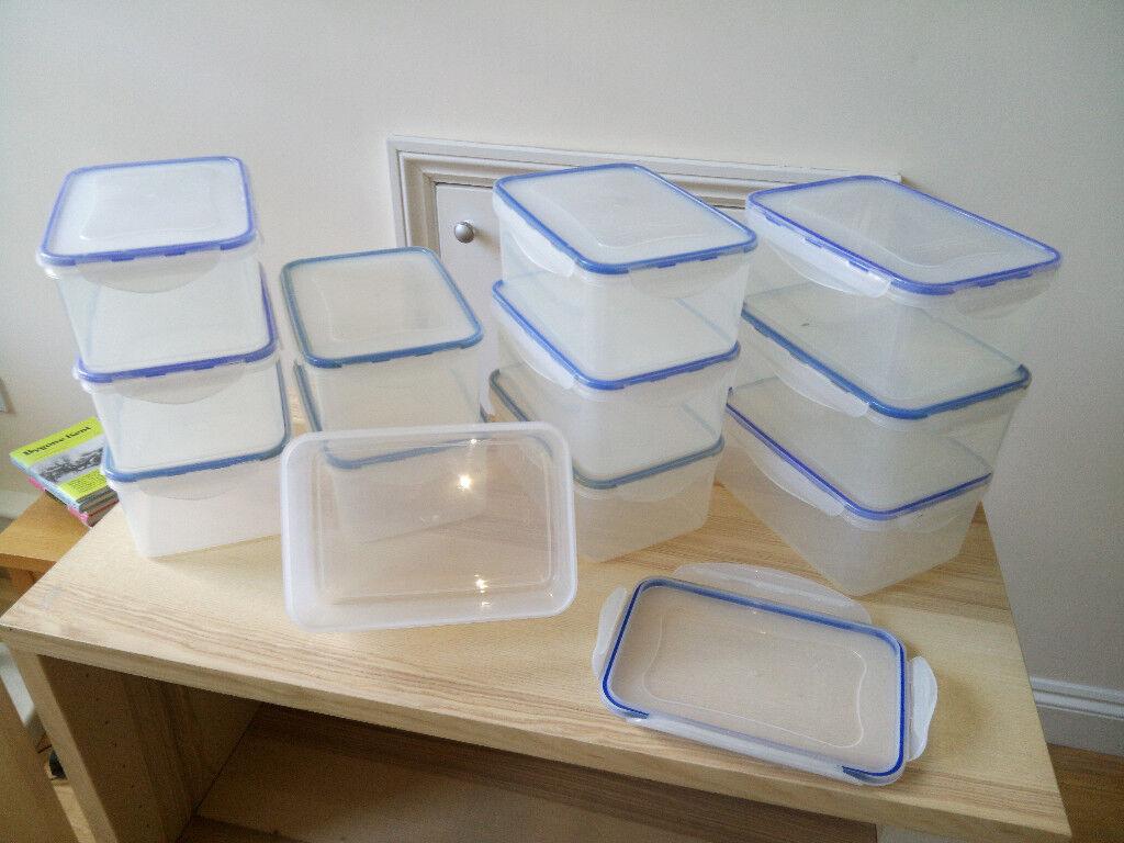 Cilck & Lock type storage boxes