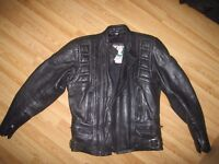BELSTAFF GENT MOTORCYCLE LEATHER JACKET (size 34) St ALBANS, HERTS