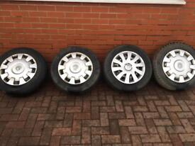 Vivaro wheels and tyre 205/65/16
