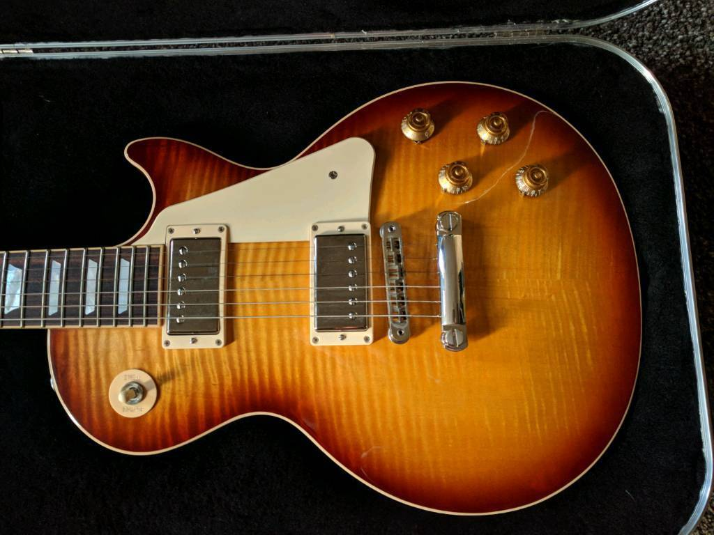 Gibson Les Paul traditional (stunning top) may trade