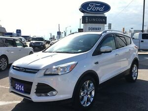 2014 Ford Escape Titanium ONE OWNER LEATHER|NAVIGATION|SUNROOF
