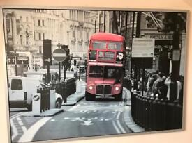 XL canvas print - London