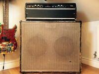 1970's Italian Vintage Bass Amp Gem 50 Watt