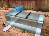 3ft clearseal fish tank with lid