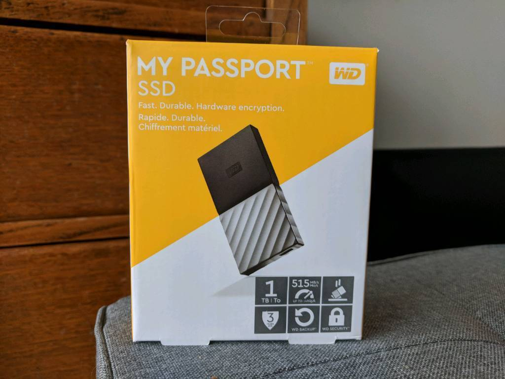1tb External Hard Drive Wd My Passport In St Pauls Bristol