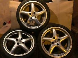 Alloy wheels 17