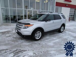 2015 Ford Explorer XLT 4X4, Heated Front Bucket Seats, 7 Pass
