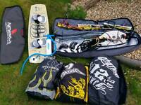 Full Kite surfing set up