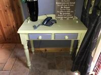 Painted Phone Table