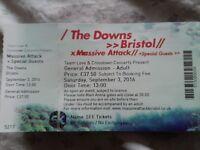 2 X Massive Attack Tickets