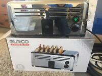 Burco 6 slice commercial toaster new