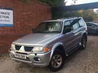 Mitsubishi Shogun Sport 3.0 V6 Equippe 5dr ONLY 2 FORMER KEEPERS FROM NEW