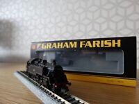 Graham Farish N Gauge Standard Class 3MT 82028 BR Black Late Crest Part Number 372-327
