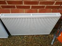 2 x nearly new radiators
