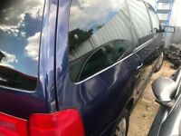 Breaking for spares only SEAT ALHAMBRA 2006 2.0L TDI MANUAL