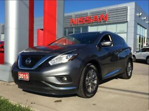 2015 Nissan Murano SL, Leather, Navigation, Power moon roof