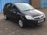 2008 Vauxhall ZAFIRA 1.6 , mot - April 2018 , only 72,000 miles ,galaxy,scenic,sharan,c4,focus