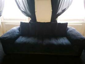 Two 4 seater DFS sofas