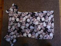 Ladies soft dusky pink top size 16