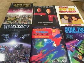 Selection of Star Trek books can sell separately