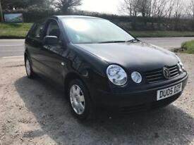 VOLKSWAGEN POLO TWIST 1.2 5DR BLACK 2005