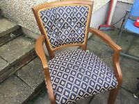 8x Dinning Mahogany Chairs