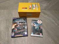 PC game, PSP game and Vintage Camcorder