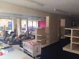 Large commercial property available to rent on busy high street of Ilkeston.