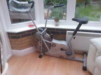 Exercise bike/x trainer