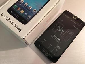 LG OPTIMUS L90 8GB Black - UNLOCKED INCLUDING WIND - BRAND NEW - Guaranteed Activation + No Blacklist