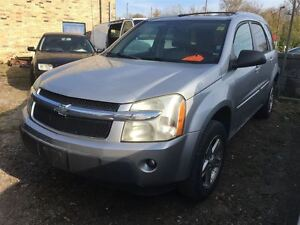 2005 Chevrolet Equinox CALL 519 485 6050 CERT AND E TESTED