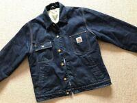 Carhartt Denim Lumberjack Jacket