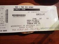 Gorrilaz Tickets