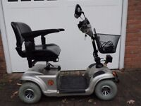 Mercury Vitesse 4 and 8 mph mobility scooter