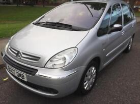 2007 CITROEN XSARA PICASSO EXCLUSIVE 1.6 PETROL ONE OWNER FORM NEW SERVICE HISTORY LONG MOT