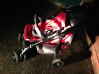 Car sit and push chair suitable from birth