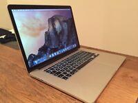 "2015 MacBook Pro 15"" Retina - 2.5 GHz i7/16GB RAM/512GB SSD - Dedicated Graphics - AppleCare"