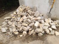 Purbeck stone - assorted sizes of blocks - approximately 3 tons