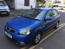 2011 Blue Kia Rio 2 automatic, 1.4 petrol, sh, 12 months mot+tax