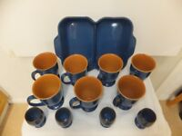 Large Collection of Denby Imperial - Blue