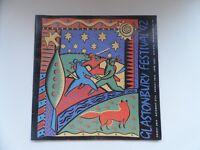 Glastonbury Festival Programme 1992 - Very Good Condition
