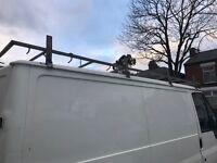 Ford transit swb roof rack full length breaking complete van