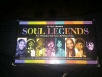12 CD SOUL LEGENDS COLLECTION