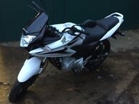 Honda CBF 125. Hardly used. Extremely low mileage, perfect condition. An ideal first bike.