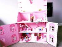 ELC Rosebud Dolls house and furniture accessories