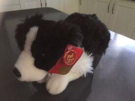 """Brand new Keel stuffed sheepdog toy """"Jessie"""""""