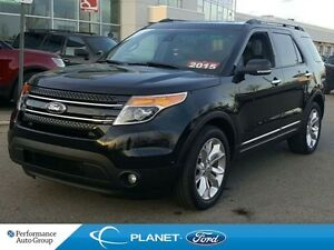 2015 Ford Explorer Limited LEATHER NAVIGATION 20 INCH WHEELS 302